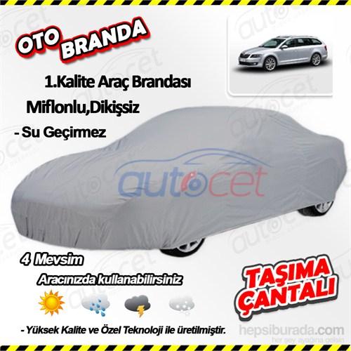 Autocet Skoda Octavia Combi Araca Özel Oto Brandası (Miflonlu, Dikişsiz) 4127A