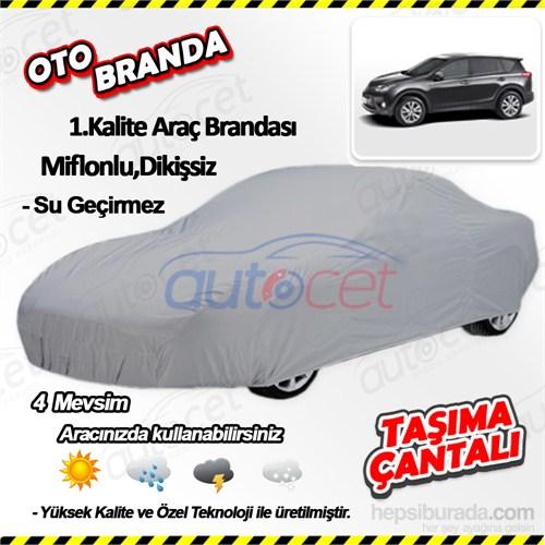 Autocet Toyota Rav4 Araca Özel Oto Brandası (Miflonlu, Dikişsiz) 4150A
