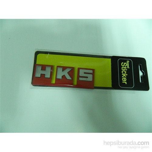 Speed Hks Sticker 9x3cm