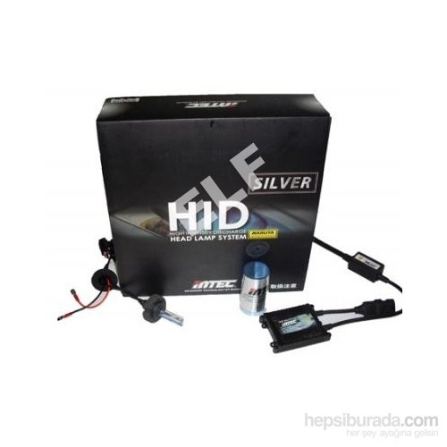 M tec Silver H4 8000K Xenon Far Kiti