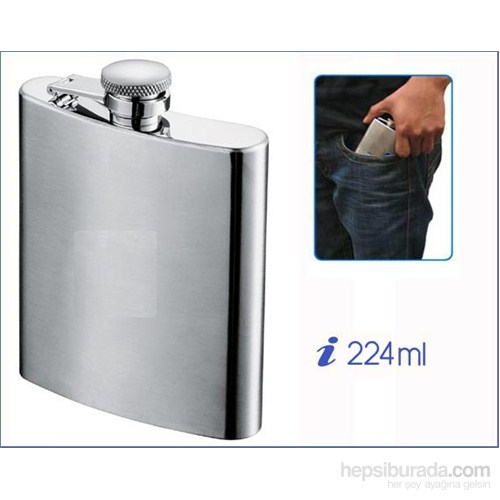 Concept 224 ml Kanyak Matarası Paslanmaz Çelik 670025
