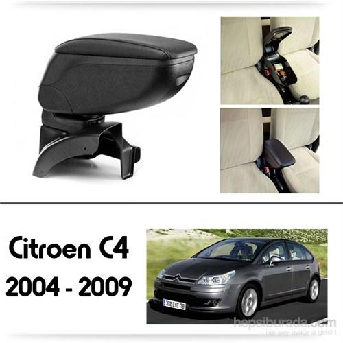 Schwer Citroen C4 2004-2009 Koltuk Arası SİYAH Kol Dayama Kolçağı-8409
