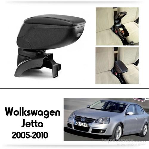 Schwer Volkwagen Jetta 2005-2010 Koltuk Arası SİYAH Kol Dayama Kolçağı-8453