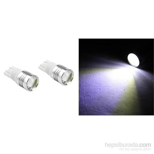 ModaCar Projektör Lens T10 Tip BEYAZ Park Ampülü 018854