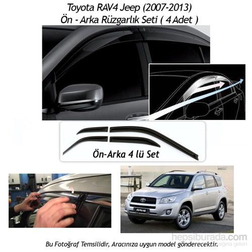 Schwer Toyota RAV4 Jeep (2007-2013) Ön-Arka 4 Cam Rüzgarlık Seti-8211