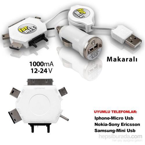 For Mix Cep Telefonu Seyahat Şarj Cihazı