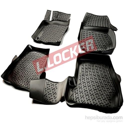 L.Locker Mercedes A serisi W176 2012 Sonrası 3D Havuzlu Paspas
