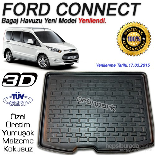 Ford Connect Bagaj Havuzu Tourneo 2015