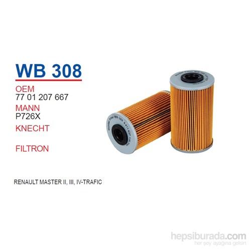 Wunder RENAULT MASTER II-III-IV - TRAFFİC II Yağ Filtresi OEM NO: 7701207667