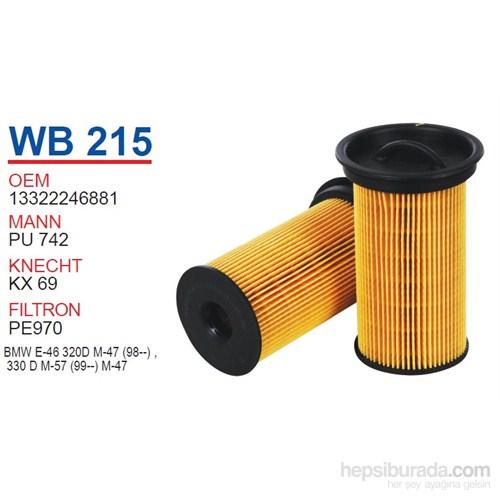 Wunder BMW E46 320d Yağ Filtresi OEM NO:13322246881