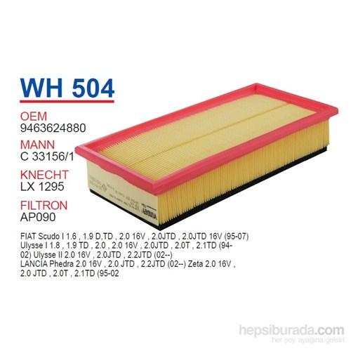 Wunder FIAT SCUDO 1.9 D (SÜNGERLi) Hava Filtresi OEM NO: 9463624880