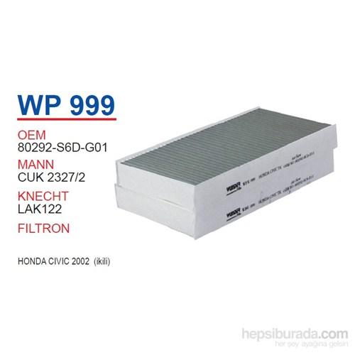 Wunder HONDA CiViC 2002 (İKİLİ) Polen Filtresi OEM NO:80292-SCA-E11