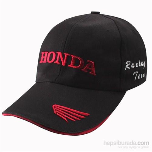 Tex 1308 Honda Logolu Siyah Şapka