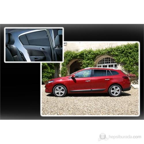 Peugeot 206 Sedan Lüks Takmatik Perde (3 Parça)