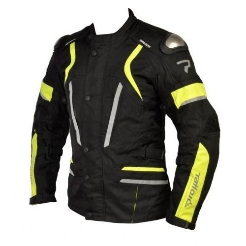 Prohel Hawk Kışlık Uzun Motosiklet Montu (Sarı-Siyah)