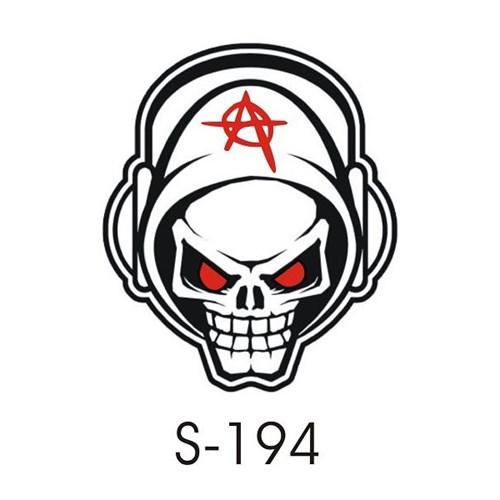 Sticker Masters Skull Anarchy Sticker