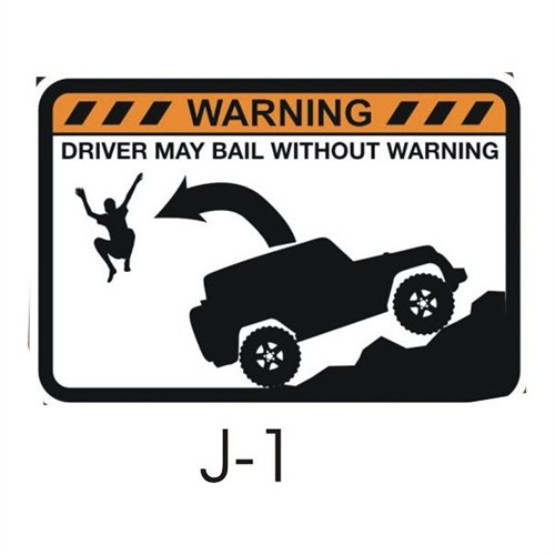 Sticker Masters Jeep Sticker 12