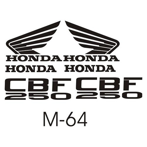 Sticker Masters Honda Cbf 250 Sticker Set