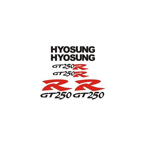 Sticker Masters Hyosung Gtr 250 Sticker Set