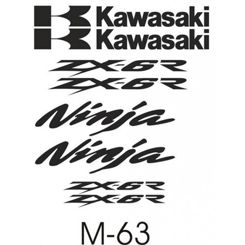 Sticker Masters Kawasaki Zxr-6 Sticker Set
