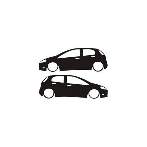 Sticker Masters Fiat Punto Sticker