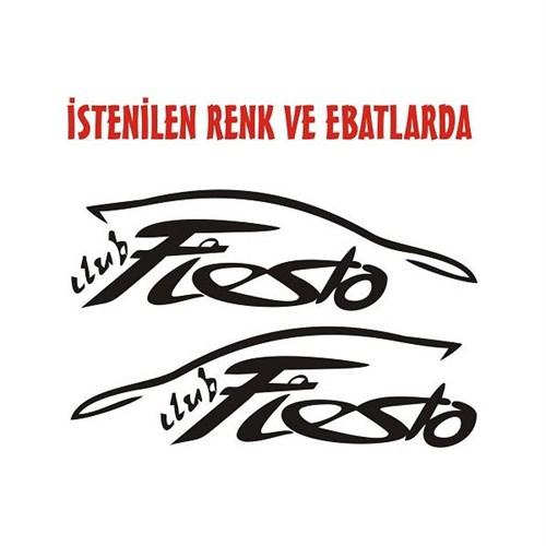 Sticker Masters Ford Fiesta Clup Sticker