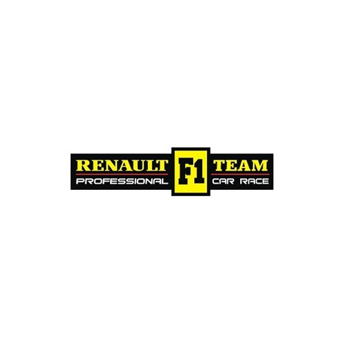 Sticker Masters Renault F1 Sticker