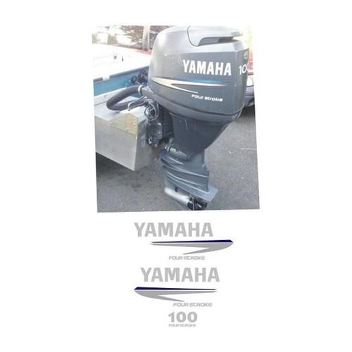 Sticker Masters Yamaha 100 Hp Sticker Set
