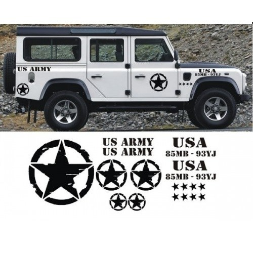 Sticker Masters Defender Sticker Set