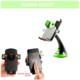 Araç İçi Telefon Tutucu Bas-Bırak Yeşil