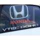Simoni Racing Nero Trasparente - Honda Araca Özel Perde SMN100697