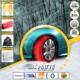 Matte Classic Seri Oto Kar Çorabı No:54