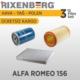 Rixenberg Filters Alfa Romeo 156 3'Lü Filtre Seti