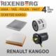 Rixenberg Filters Renault Kango 4'Lü Filtre Seti