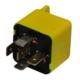 5 Ayaklı Röle Gri-Sarı 12V 30A Vidalı Tip