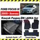 Ford Focus III Kauçuk Ön / Arka Araca Özel Paspas Seti 3558a