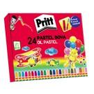 Pritt 24 Renk Karton Kutu Pastel Boya (1307853)