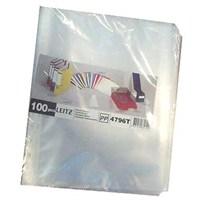 Leitz Poşet Dosya A4 11 Delikli (100 Adet) Buzlu 479610