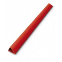 Sistem 10 mm Plastik Sırtlık Kolay Cilt Yapımı İçin Şeffaf Üçgen Profil