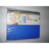 Paper Note Light Notebook 17*24Cm Pp Kapak 4+1 Ultra Hafif 150 Yp