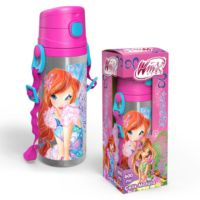 Yaygan Winx Club Bloom 600 Ml Pipetli Çelik Matara (Termos) - 61845