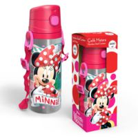 Yaygan Minnie Mouse 600 Ml Pipetli Çelik Matara (Termos)