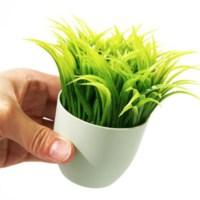 BuldumBuldum Grass Pot Pen Holder - Çimli Saksı Kalemlik