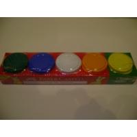 Faber-Castell Oyun Hamuru 5 Renk Su Bazlı