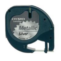 Dymo Metalik Etiket Gri 59429 - S0721730