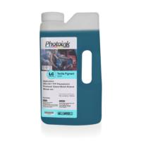 Photo Ink Epson Piezzo Kafalar İçin 1000 Ml Açık Mavi Light Cyan Tekstil Mürekkep (T-Etp)