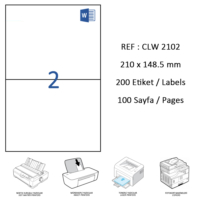 Crea Label Clw-2102 210 X 148.5 Mm Lazer Etiket