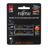 Fujitsu 1.2V 2450 Mah Aa R2U Şarjli Batarya 2Li Blister