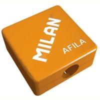 Milan Afila Plastik Hazneli Renkli Kalemtraş