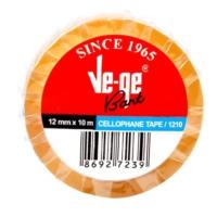 Ve-Ge 12 x 10 Mt Cellulose Bant (Selefon)